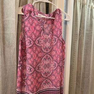 XL Violet and Claire Multi Sleeveless Blouse